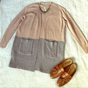 Madewell two toned sweater